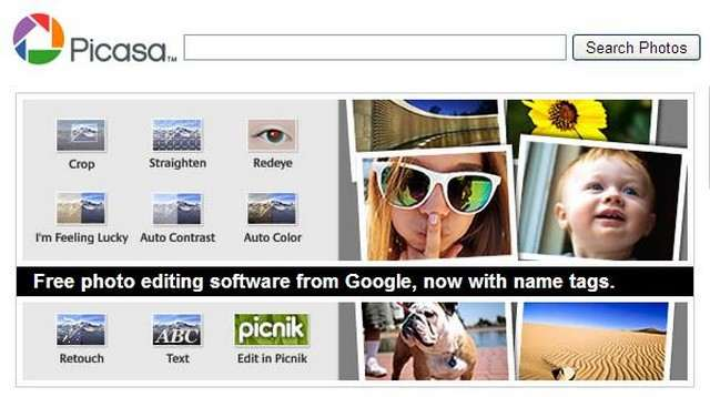 top image hosting online Picasa